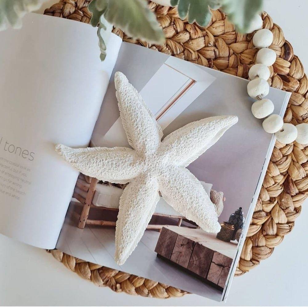 Style your Console Table with a Starfish #Coastal #CoastalDecor #Entryway #Foyer #ConsoleTables #CoastalEntryway #CoastalFoyer #BeachHouse #BeachHome #SummerHouse #LakeHouse #ConsoleTable #SeasideDecor #IslandDecor #TropicalIslandDecor