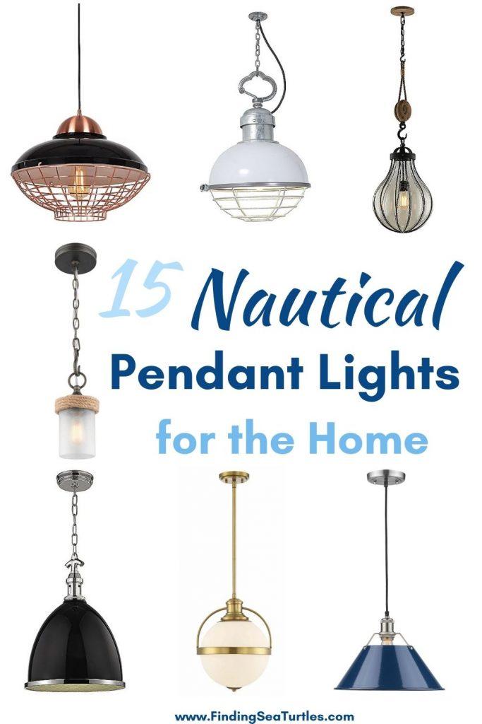 15 Nautical Pendant Lights for the Home #Coastal #Nautical #NauticalPendants #Lighting #DiningRoom #CoastalDiningRoom #CoastalKitchen #CoastalDecor #CoastalHomeDecor #BeachHouse #SeasideStyle #LakeHouse #SummerHouse
