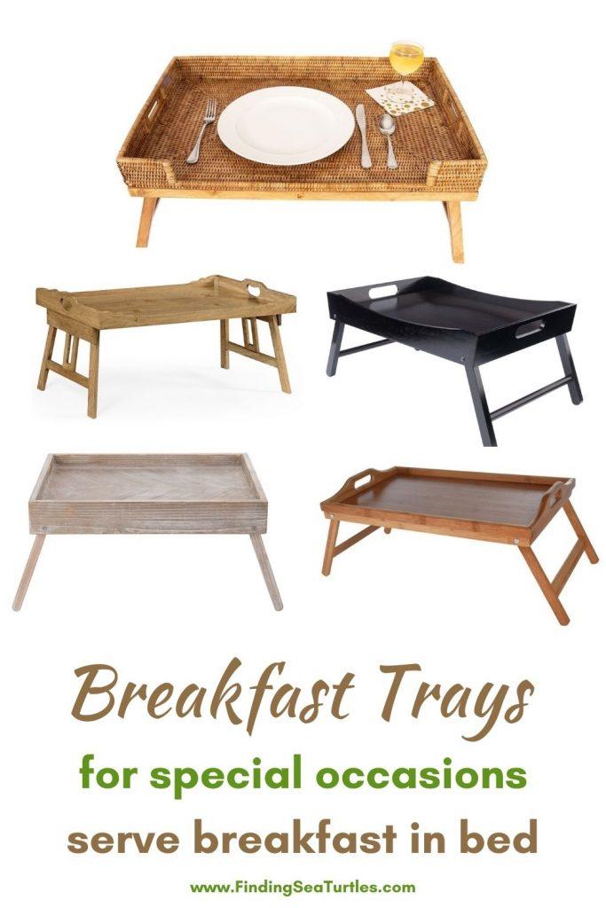 Breakfast Trays for special occasions serve breakfast in bed #Coastal #Trays #BreakfastTrays #BreakfastInBed #BedTrays #BreakfastBedTrays #HomeDecor #CoastalHomeDecor #CoastalHome #CoastalLiving #BeachHouse #SeasideStyle #LakeHouse #SummerHouse #CoastalBohoDecor
