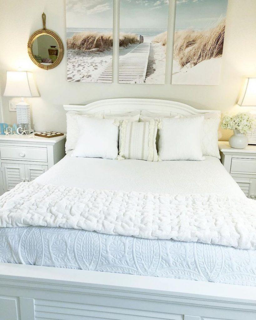 Inspo 10 #Coastal #Beds #BedRoom #CoastalBeds #CoastalBedroom #CoastalDecor #CoastalHome #CoastalLiving #BeachHouse #SeasideStyle #LakeHouse #SummerHouse #CoastalBohoDecor