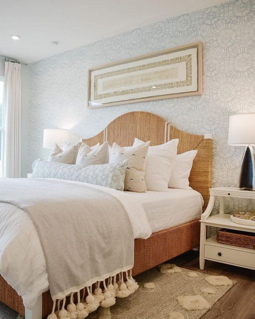 Inspirational Coastal Beds Inspo 13 #Coastal #Beds #BedRoom #CoastalBeds #CoastalBedroom #CoastalDecor #CoastalHome #CoastalLiving #BeachHouse #SeasideStyle #LakeHouse #SummerHouse #CoastalBohoDecor