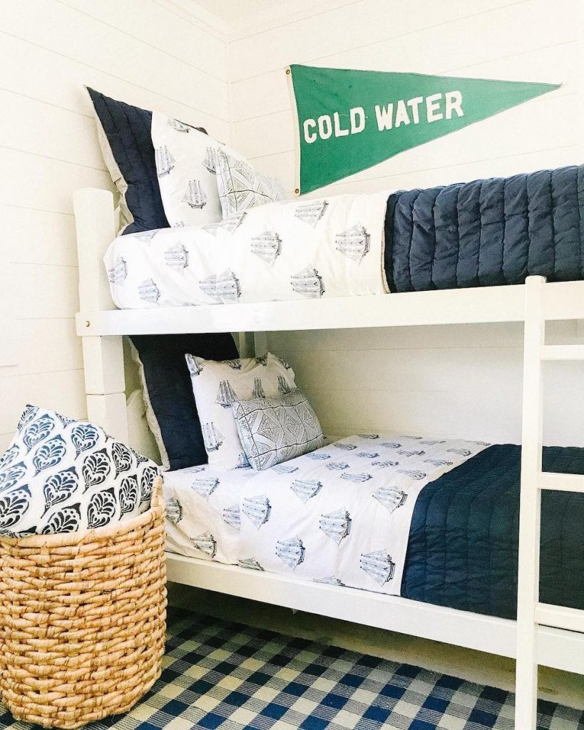 Inspirational Coastal Bunk Beds Inspo 14 #Coastal #Beds BunkBeds #CoastalBunkBeds #BedRoom #Sleepovers #CoastalBeds #CoastalBedroom #CoastalDecor #CoastalHome #CoastalLiving #BeachHouse #SeasideStyle #LakeHouse #SummerHouse #CoastalBohoDecor