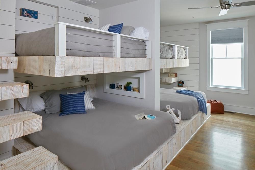 Inspo 15 #Coastal #Beds BunkBeds #CoastalBunkBeds #BedRoom #Sleepovers #CoastalBeds #CoastalBedroom #CoastalDecor #CoastalHome #CoastalLiving #BeachHouse #SeasideStyle #LakeHouse #SummerHouse #CoastalBohoDecor