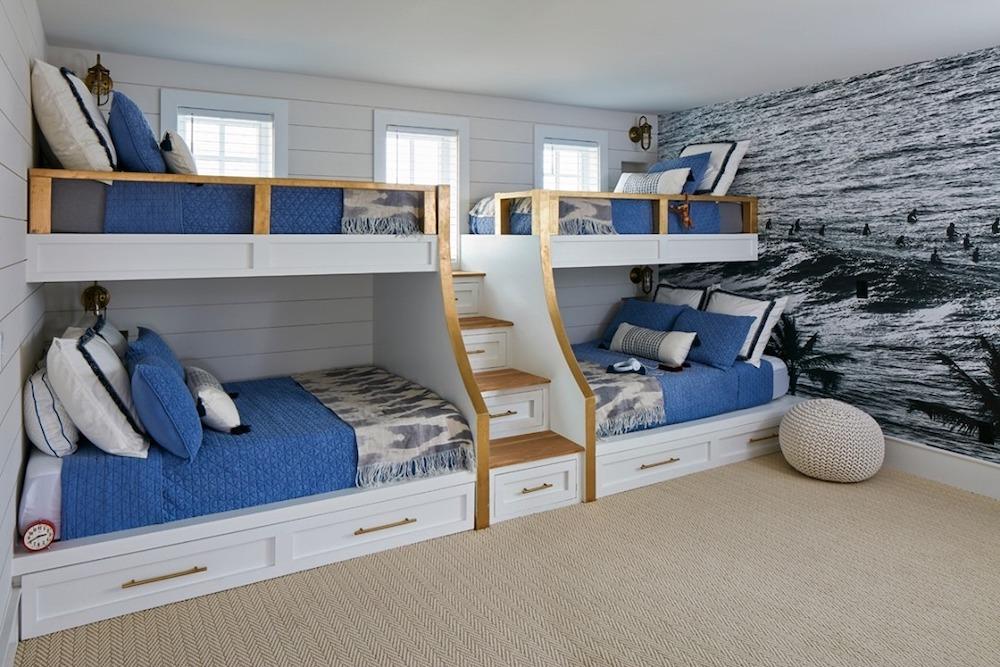 Inspo 8 #Coastal #Beds BunkBeds #CoastalBunkBeds #BedRoom #Sleepovers #CoastalBeds #CoastalBedroom #CoastalDecor #CoastalHome #CoastalLiving #BeachHouse #SeasideStyle #LakeHouse #SummerHouse #CoastalBohoDecor