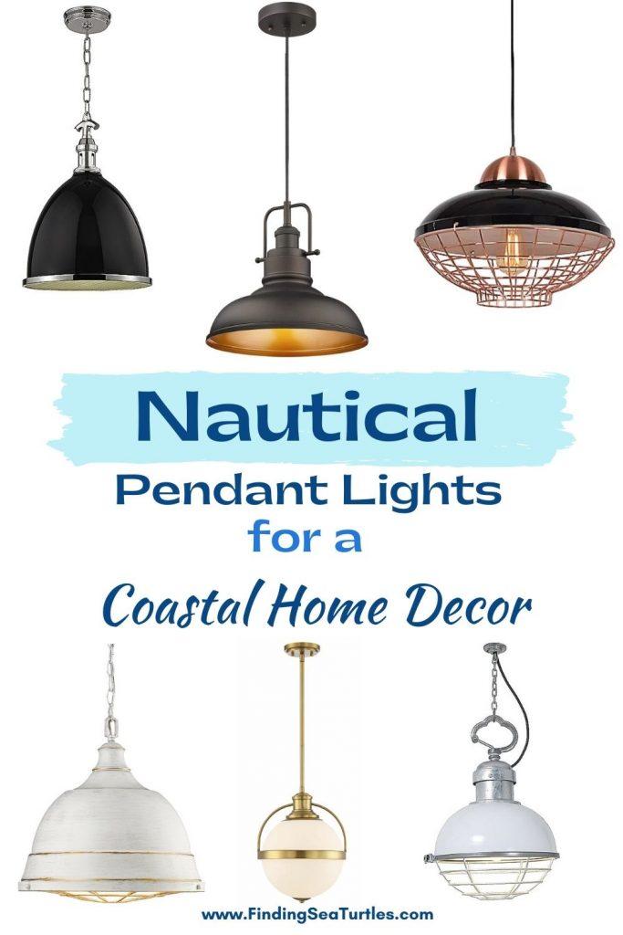 Nautical Pendant Lights for a Coastal Home Decor #Coastal #Nautical #NauticalPendants #Lighting #DiningRoom #CoastalDiningRoom #CoastalKitchen #CoastalDecor #CoastalHomeDecor #BeachHouse #SeasideStyle #LakeHouse #SummerHouse