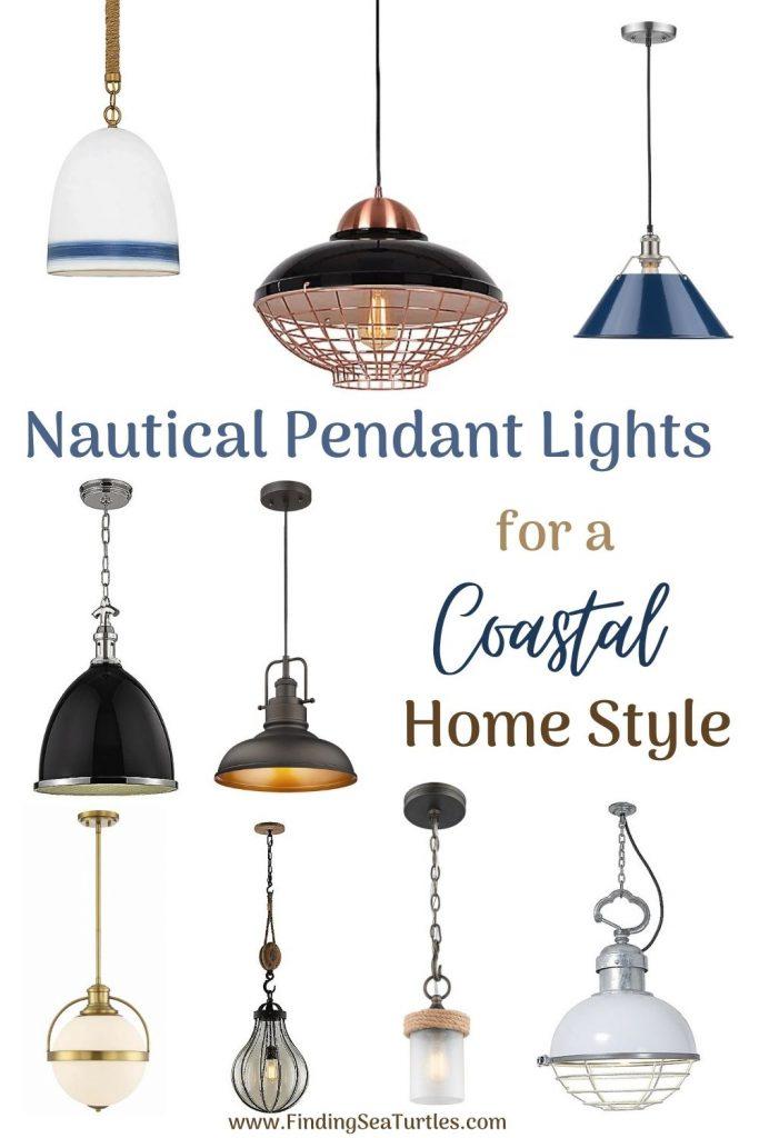 Nautical Pendant Lights for a Coastal Home Style #Coastal #Nautical #NauticalPendants #Lighting #DiningRoom #CoastalDiningRoom #CoastalKitchen #CoastalDecor #CoastalHomeDecor #BeachHouse #SeasideStyle #LakeHouse #SummerHouse