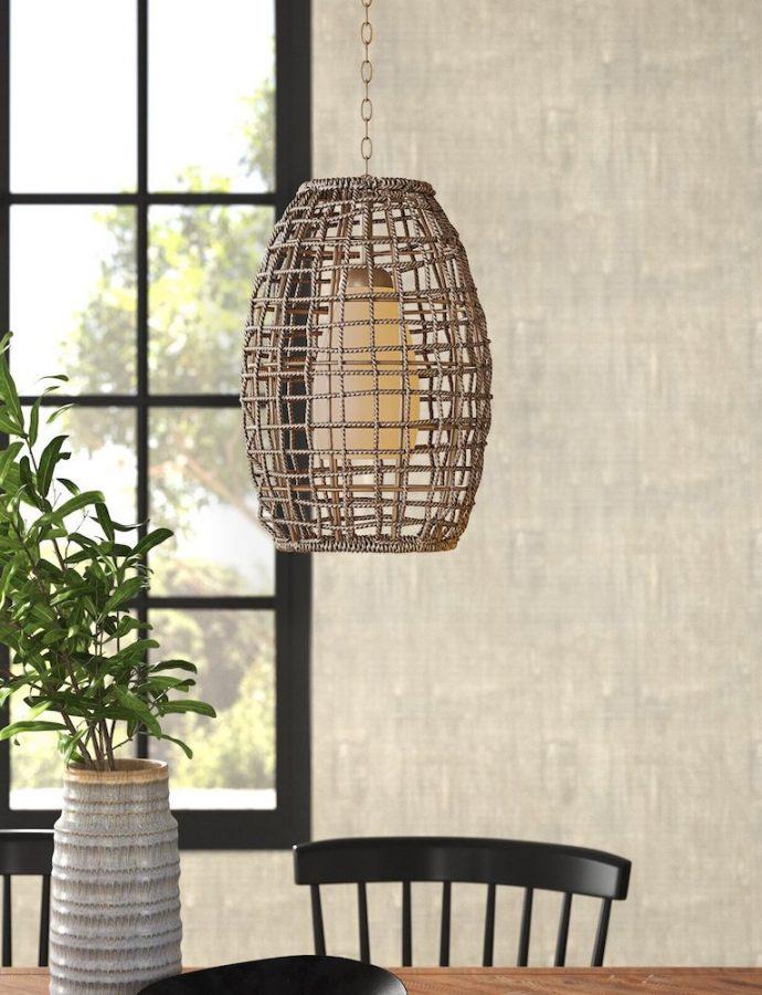 21 Best Rattan Pendant Lights