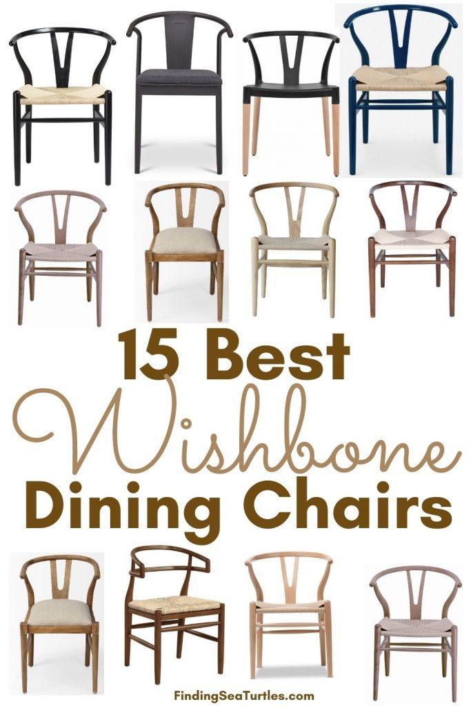 Wishbone Chairs 15 Best Wishbone Dining Chairs #Chairs #WishboneChairs #CoastalDecor #BeachHouse