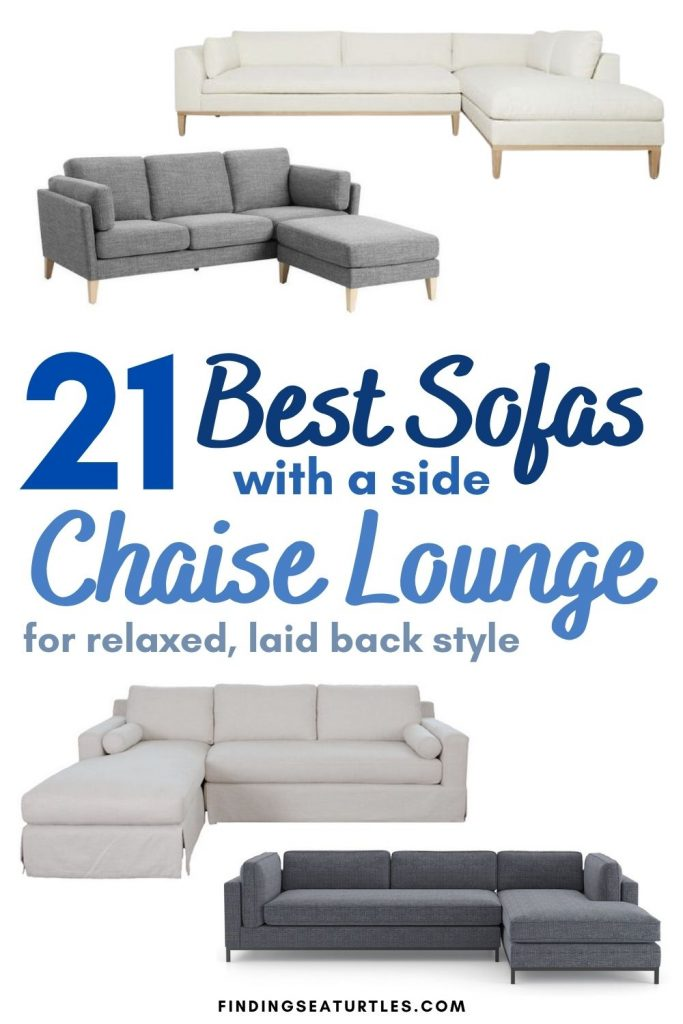 21 Best Sofas with a side Chaise Lounge for a relaxed laid back style #Coastal #Sofas #CoastalSofas #CoastalSofasChaiseLounge #LivingRoom #CoastalLivingRoom #SofawithChaiseLounge #CoastalDecor #HomeDecor #CoastalHomeDecor #CoastalHome #CoastalLiving #BeachHouse #SeasideStyle #LakeHouse #SummerHouse