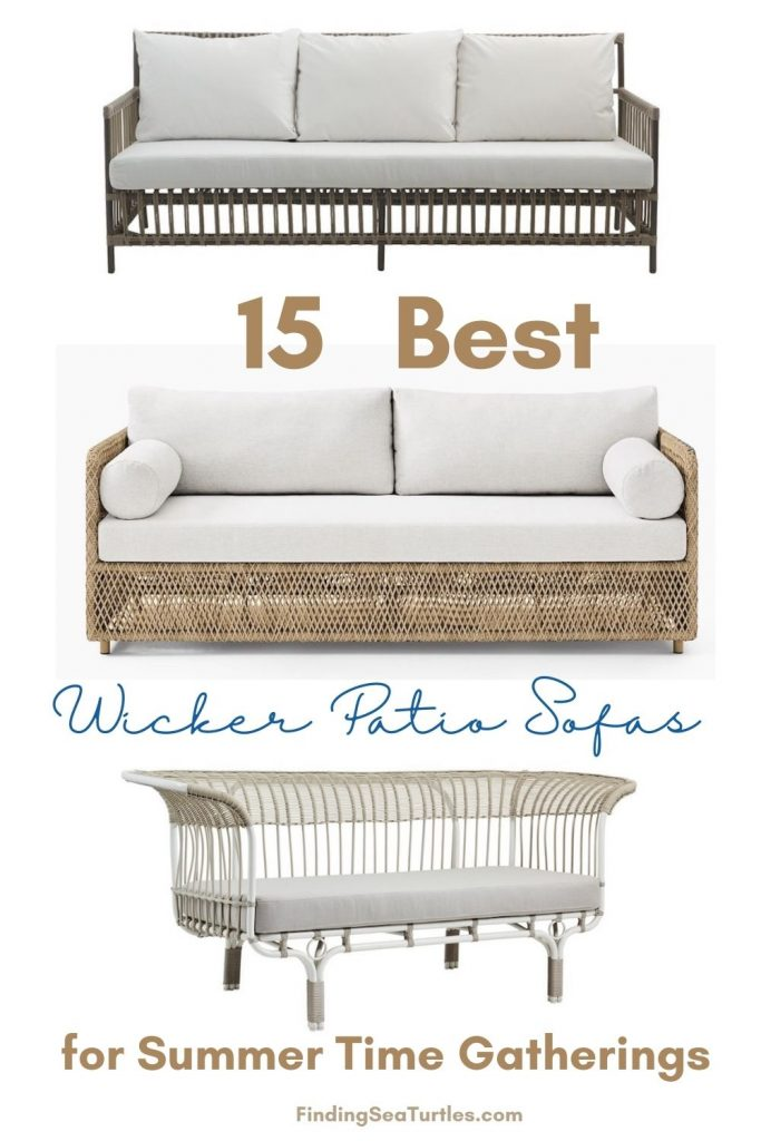 15 Best Wicker Patio Sofas for Summer time Gatherings #Coastal #WickerPatioSofas #CoastalSofas #PatioSofas #WickerSofas #Patio #Porch #Deck #Terrace #OutdoorSofas #OutdoorSpaces #CoastalDecor #HomeDecor #CoastalHomeDecor #CoastalHome #CoastalLiving #BeachHouse #SeasideStyle #LakeHouse #SummerHouse