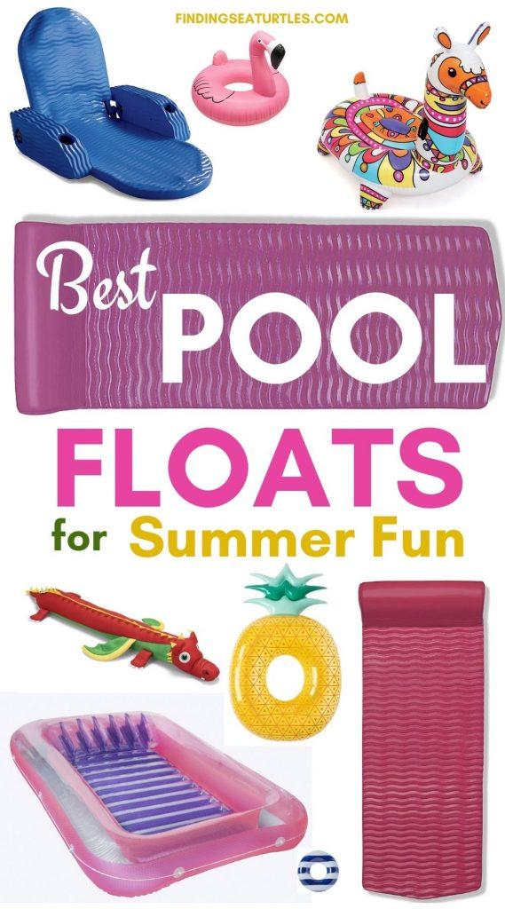 Best Pool Floats for Summer Fun #Pool #PoolFloats #PoolSide #BeachVibes #Summer #CoastalStyle #CoastalLiving #BeachGear #FamilyFun