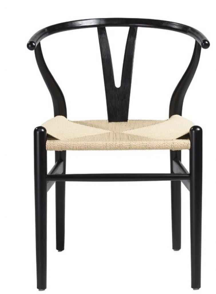 Wishbone Chair Styling Ideas Clemence Side Chair #Chairs #WishboneChairs #DiningRoom #CoastalDecor #BeachHouse