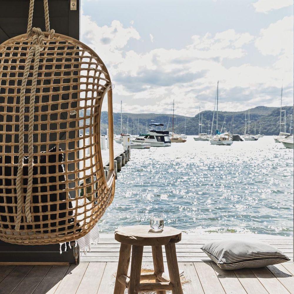 Feature jettyhouse #HangingChair #HangingRattanChair #CoastalChair #CoastalDecor #BeachHouse
