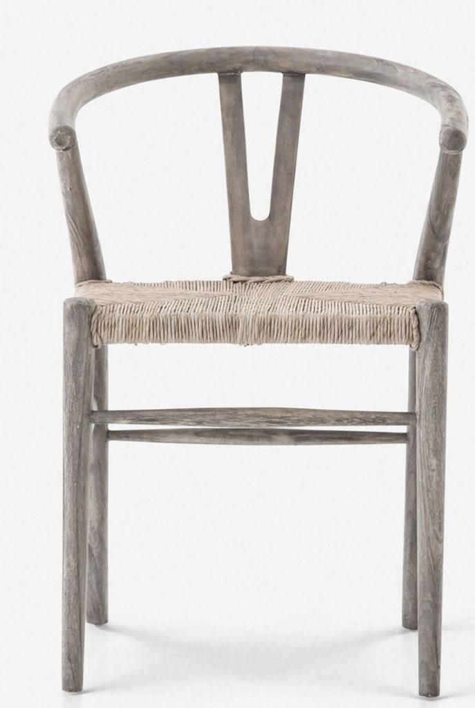 Wishbone Chairs Gradie Dining Chair #Chairs #WishboneChairs #CoastalDecor #BeachHouse