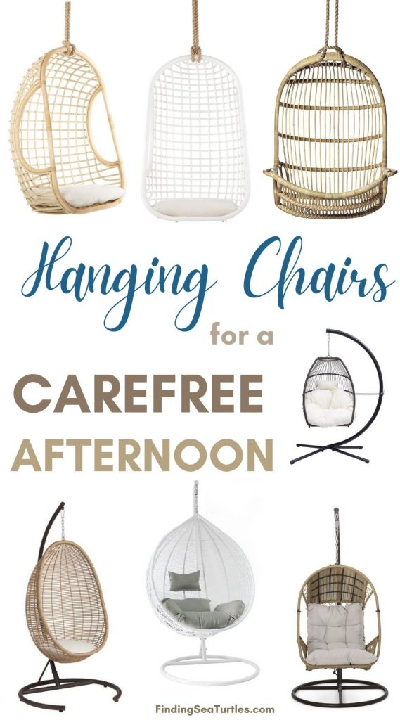Hanging Chairs for a Carefree Afternoon
