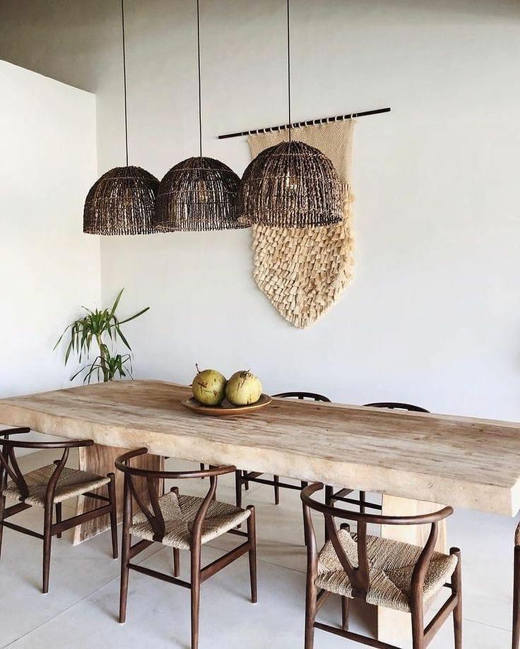 Wishbone Chair Styling Ideas Inspo 1 #Chairs #WishboneChairs #DiningRoom #CoastalDecor #BeachHouse
