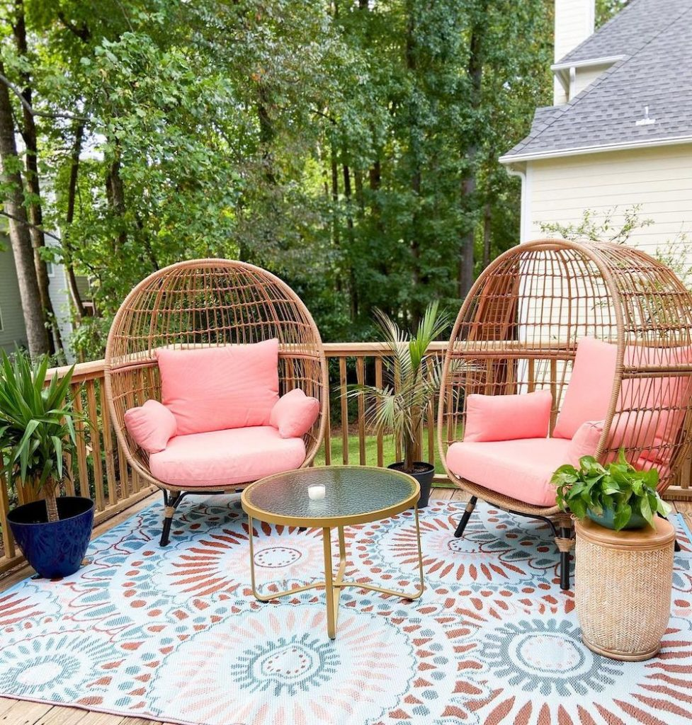 Egg Chair Styling Ideas Inspo 11 #Chairs #EggChairs #BohoDecor #CoastalDecor #BeachHouse
