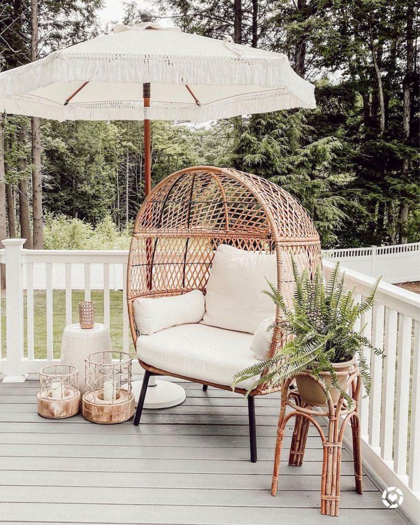Inspo 12 #Chairs #EggChairs #BohoDecor #CoastalDecor #BeachHouse
