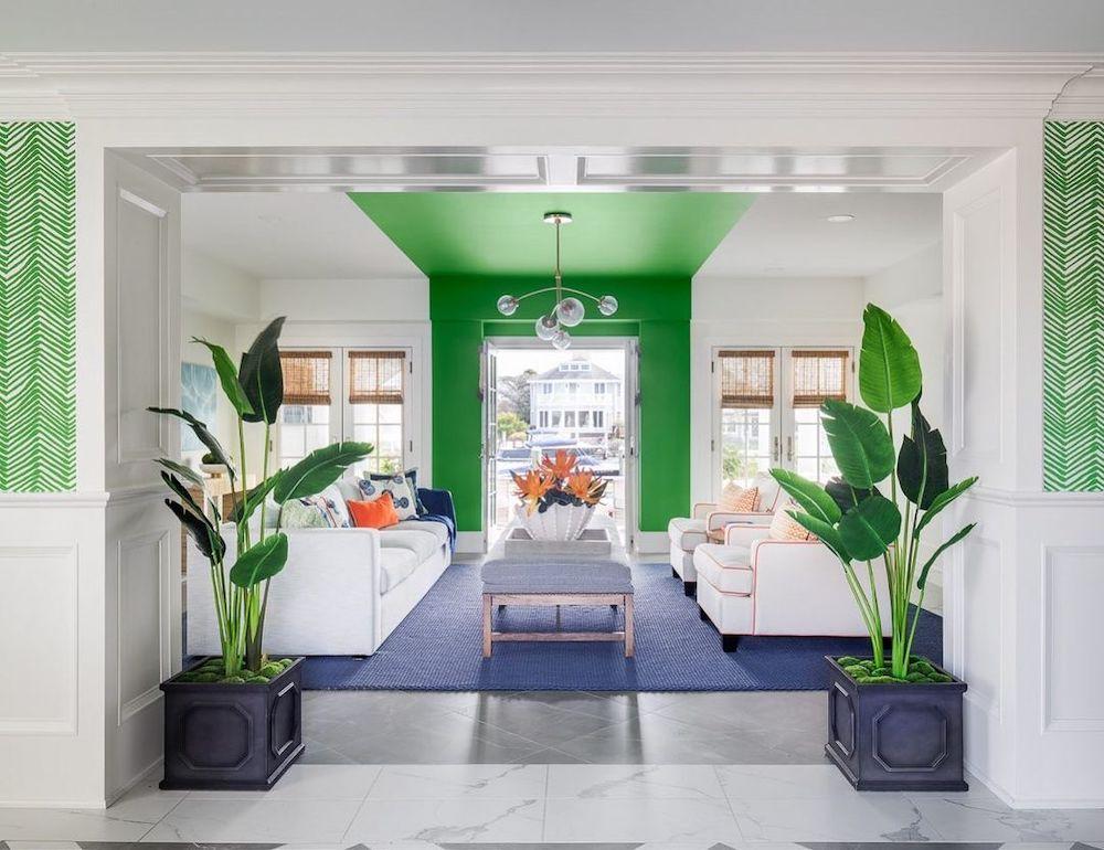 Coastal Blue and Green Interiors Inspo 15 #BlueGreenRooms #BlueGreenInteriors #Coastal #CoastalHomeDecor #HomeDecor #LivingRoomDecor