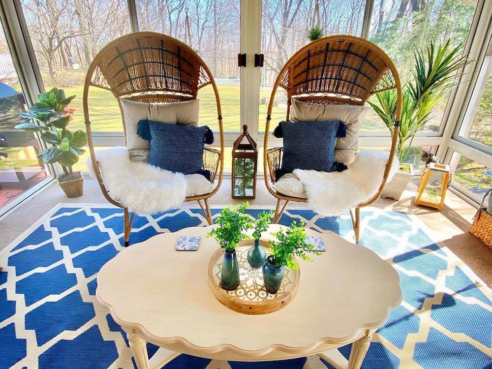 Inspo 15 #Chairs #EggChairs #BohoDecor #CoastalDecor #BeachHouse
