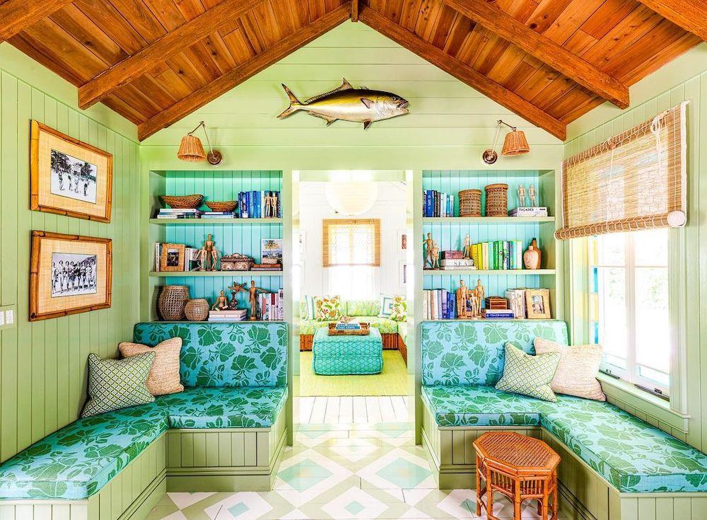 Inspo 25 #BlueGreenRooms #BlueGreenInteriors #Coastal #CoastalHomeDecor #HomeDecor #LivingRoomDecor
