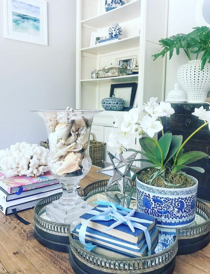27 Best Coastal Tray Styling Ideas to Design a Vignette