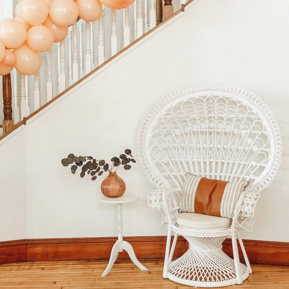 Inspo 3 #Chairs #PeacockChair #BohoDecor #CoastalDecor #BeachHouse