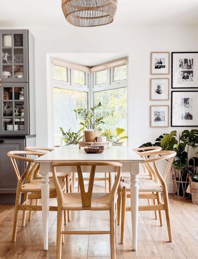 12 Ways To Style the Wishbone Chair
