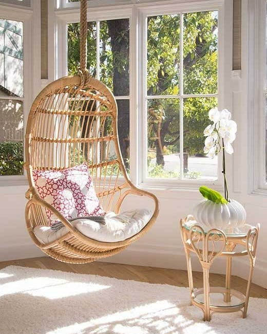 18 Best Hanging Chairs for the Modern Coastal Home