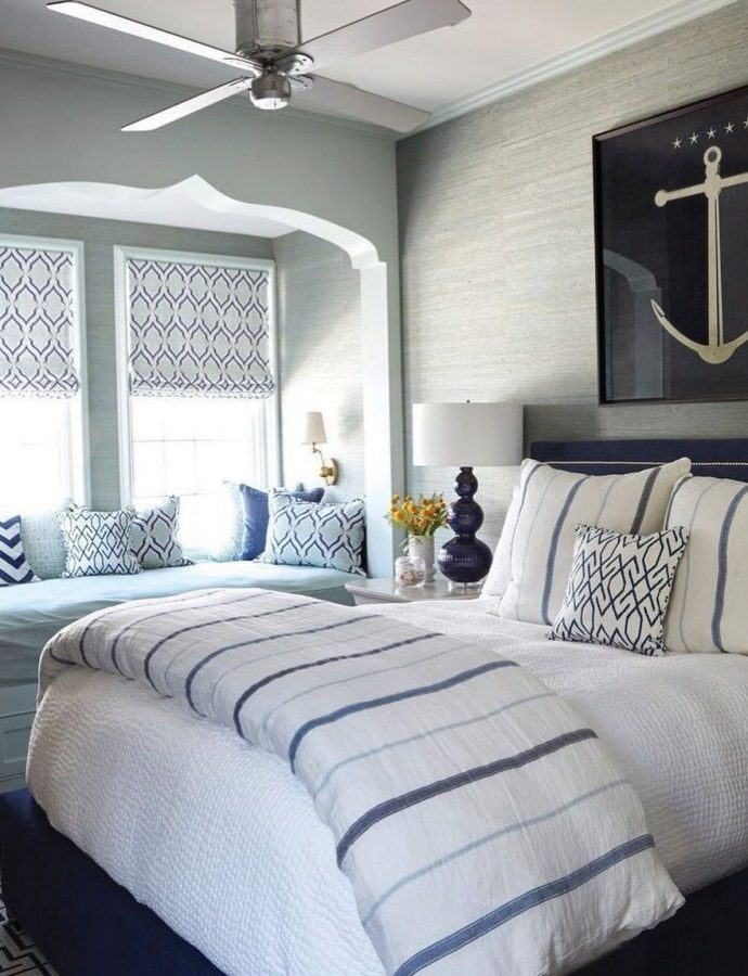Blue and White Stripes Styling Ideas for the Coastal Home