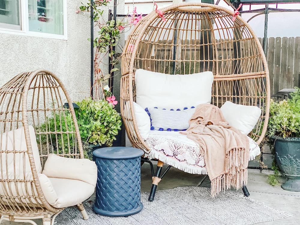 Inspo 9 #Chairs #EggChairs #BohoDecor #CoastalDecor #BeachHouse