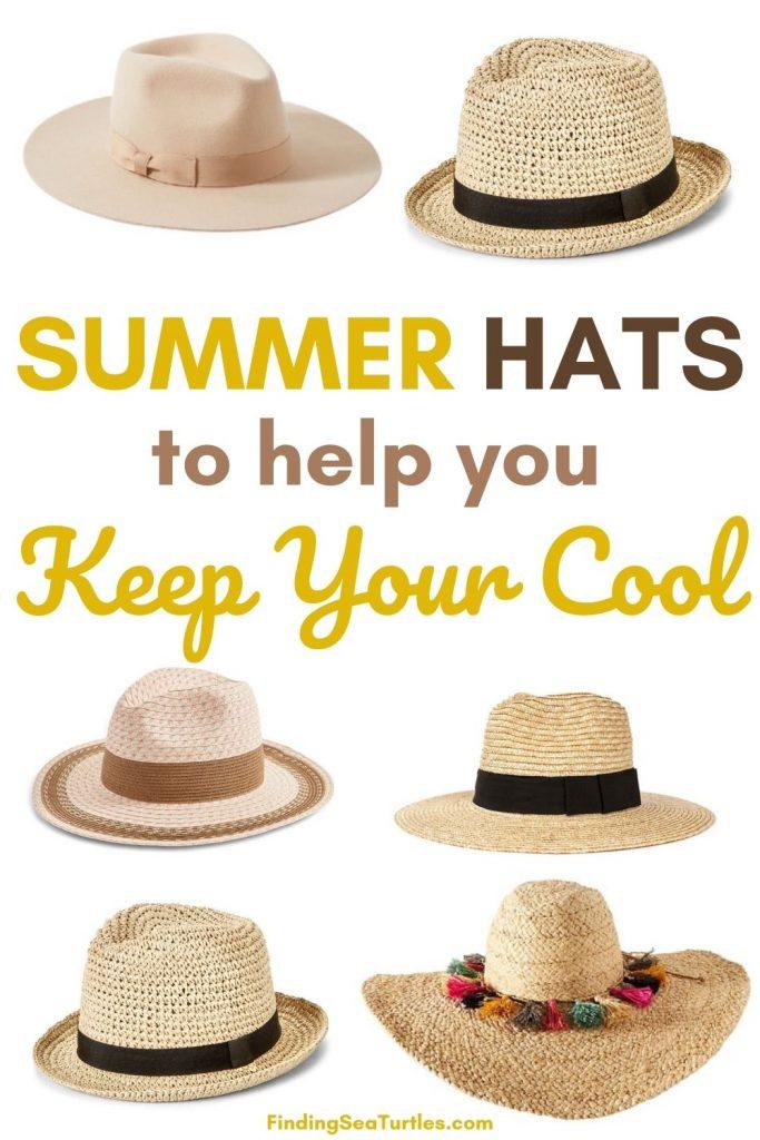 Summer Hats to help you Keep Your Cool #hats #SummerHats #bythesea #beachlife #beachvibes #summer #coastalstyle #coastalliving #beachgear