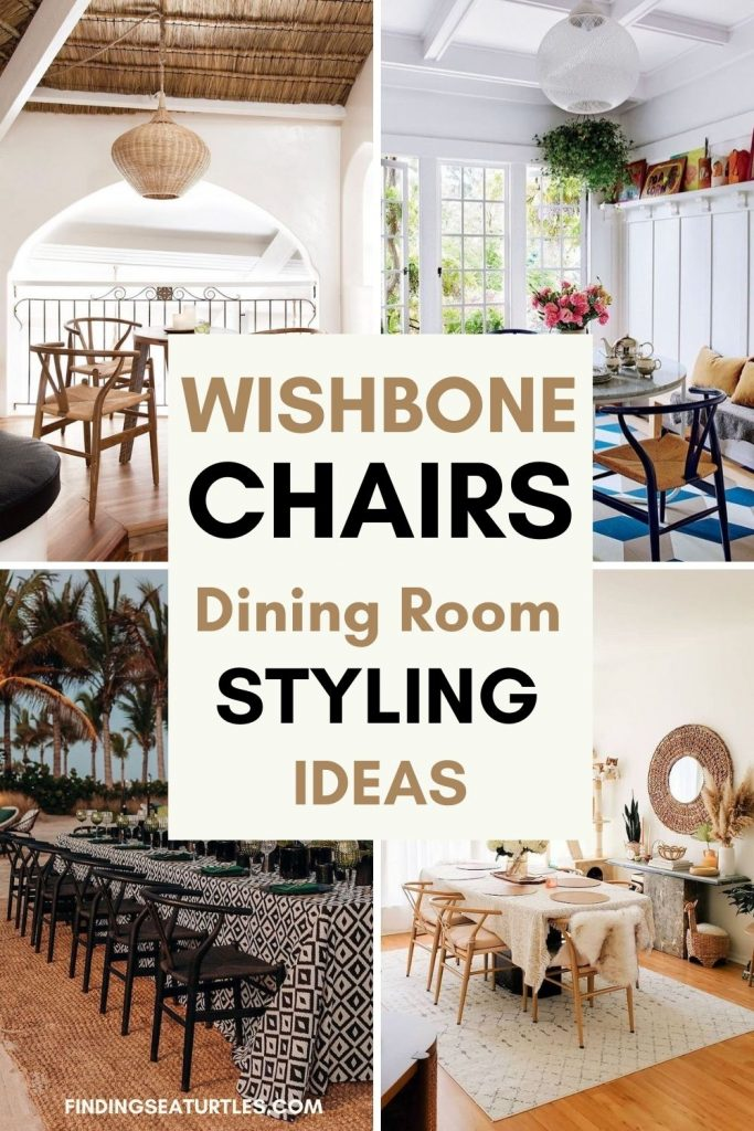 WISHBONE Chairs Dining Room Styling Ideas