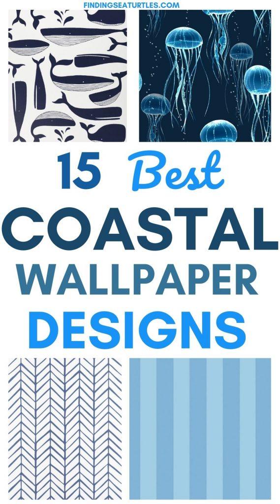 15 Best Coastal Wallpaper Designs #WallPaper #CoastalWallpaper #Coastal #CoastalDecor #HomeDecor