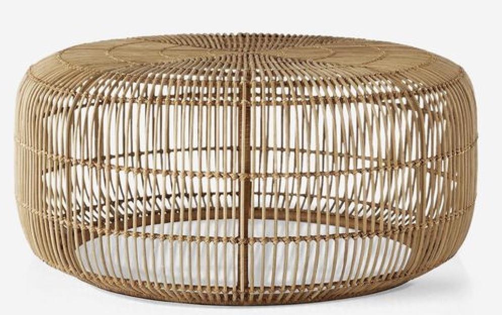 Coffee Table Styling Ideas Amina Round Coffee Table #CoffeeTables #CoastalCoffeeTables #BohoCoastal #CoastalDecor #HomeDecor