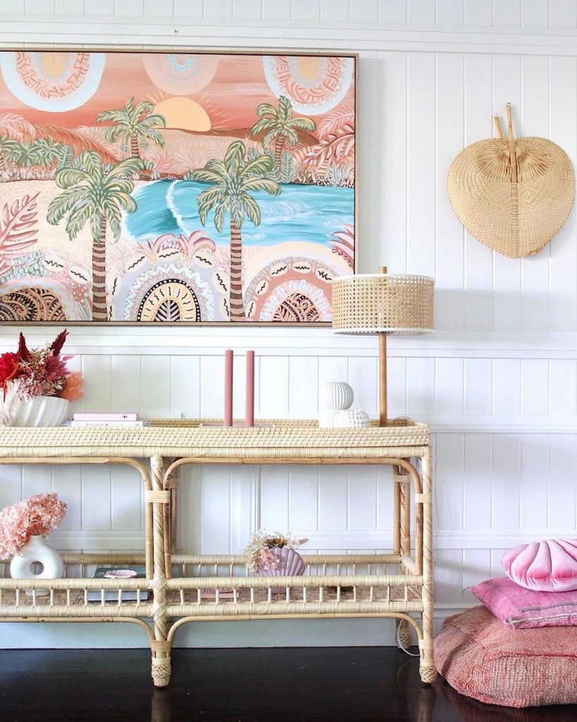 Inspo 10 #Pink #PinkAccessories #Coastal #CoastalPinkDecor #BohoCoastal #CoastalDecor #HomeDecor