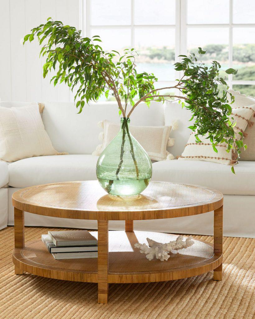Inspo 11 Balboa Coffee Table #CoffeeTables #CoastalCoffeeTables #BohoCoastal #CoastalDecor #HomeDecor