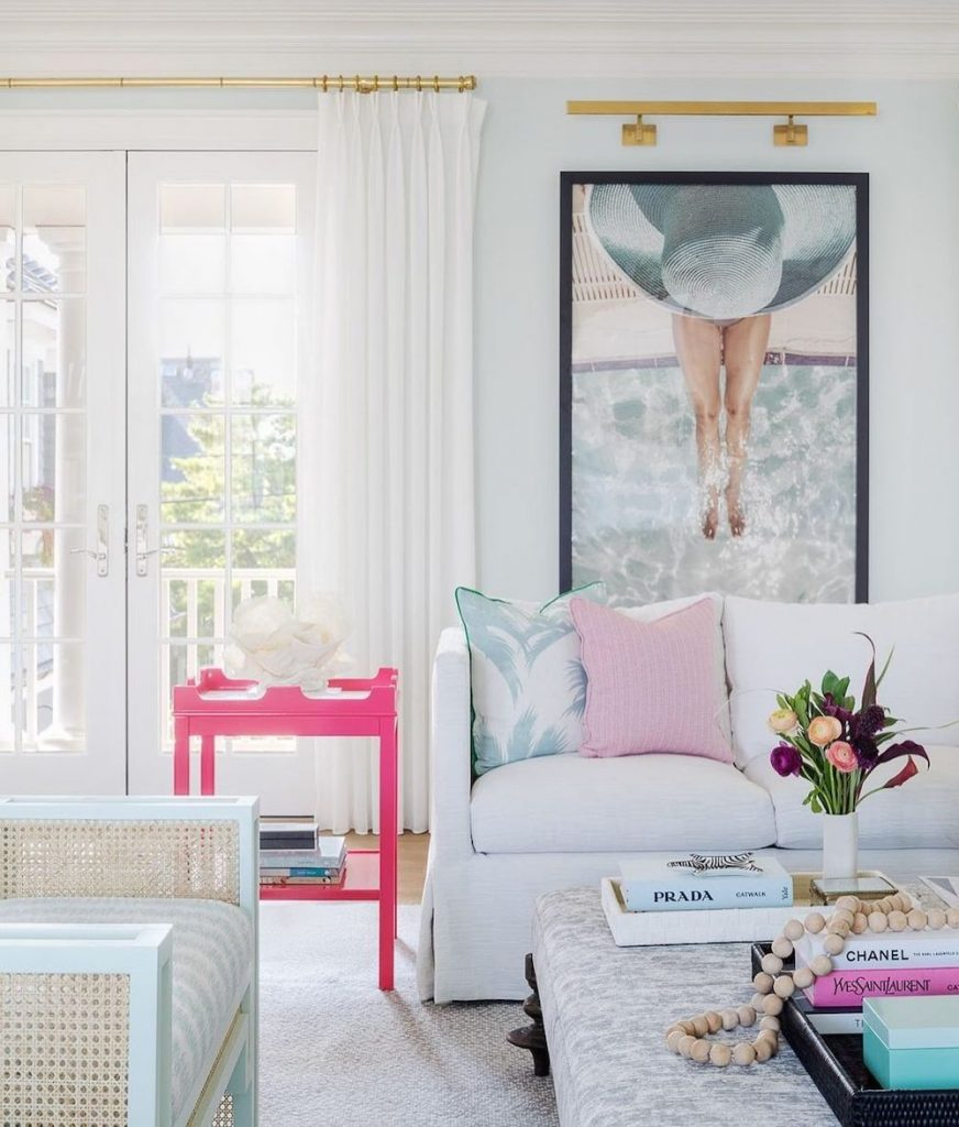 Pink Table Lamps Inspo 2 #PinkTableLamps #PinkAccessories #Coastal #CoastalPinkDecor #BohoCoastal #CoastalDecor #HomeDecor #LivingRoomDecor