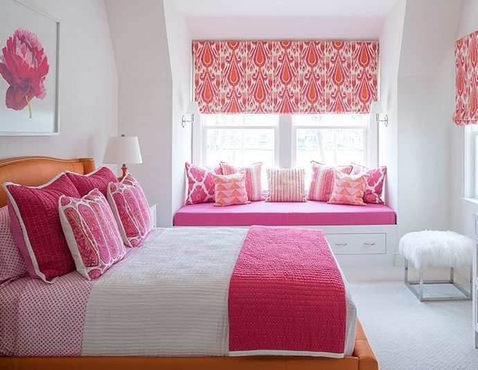 12 Best Pink Pillows for a Pop of Color in Coastal Homes