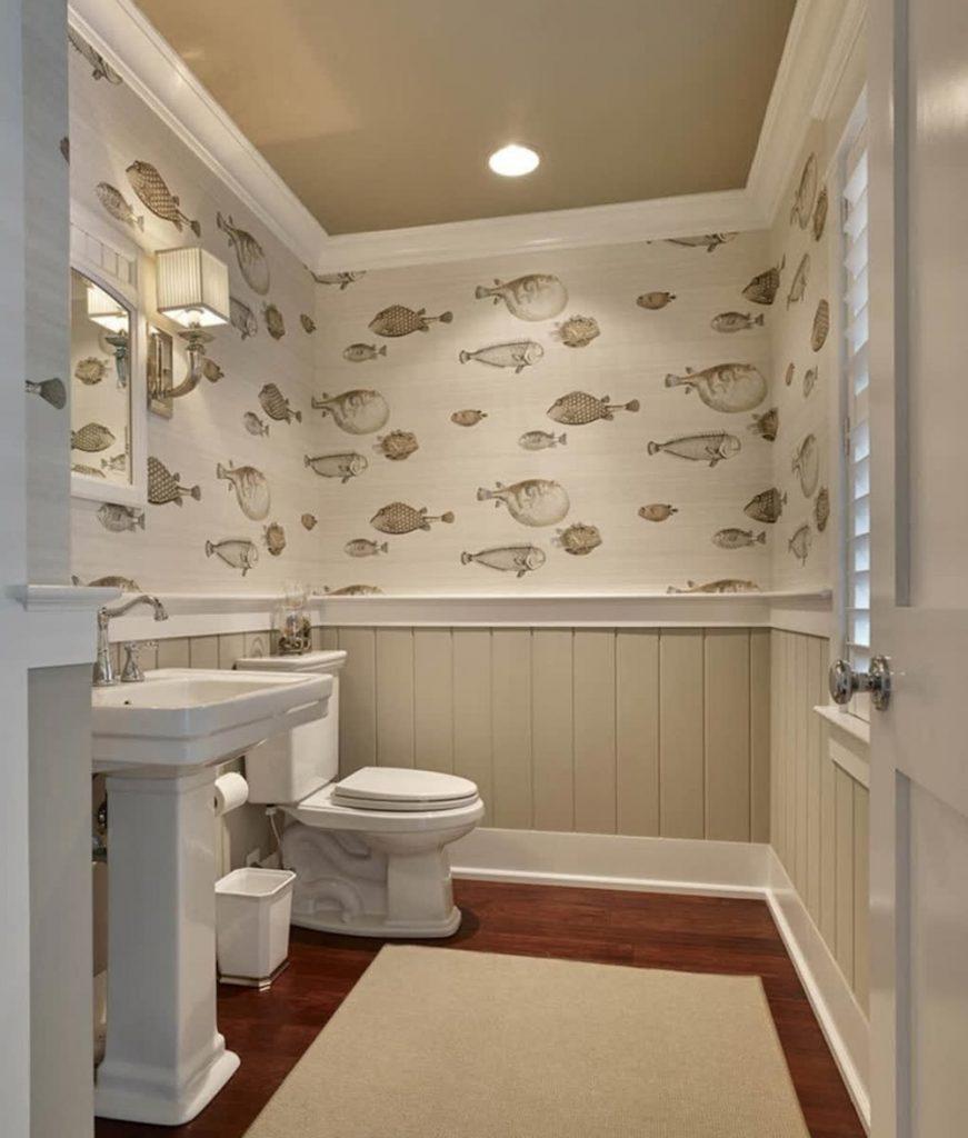 Coastal wallpaper styling ideas Inspo 3 #WallPaper #CoastalWallpaper #Coastal #CoastalDecor #HomeDecor