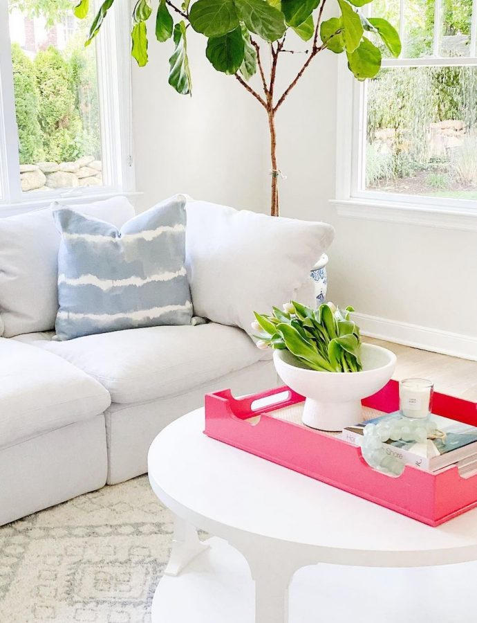 9 Best Pink Trays for Today's Coastal Home Decor