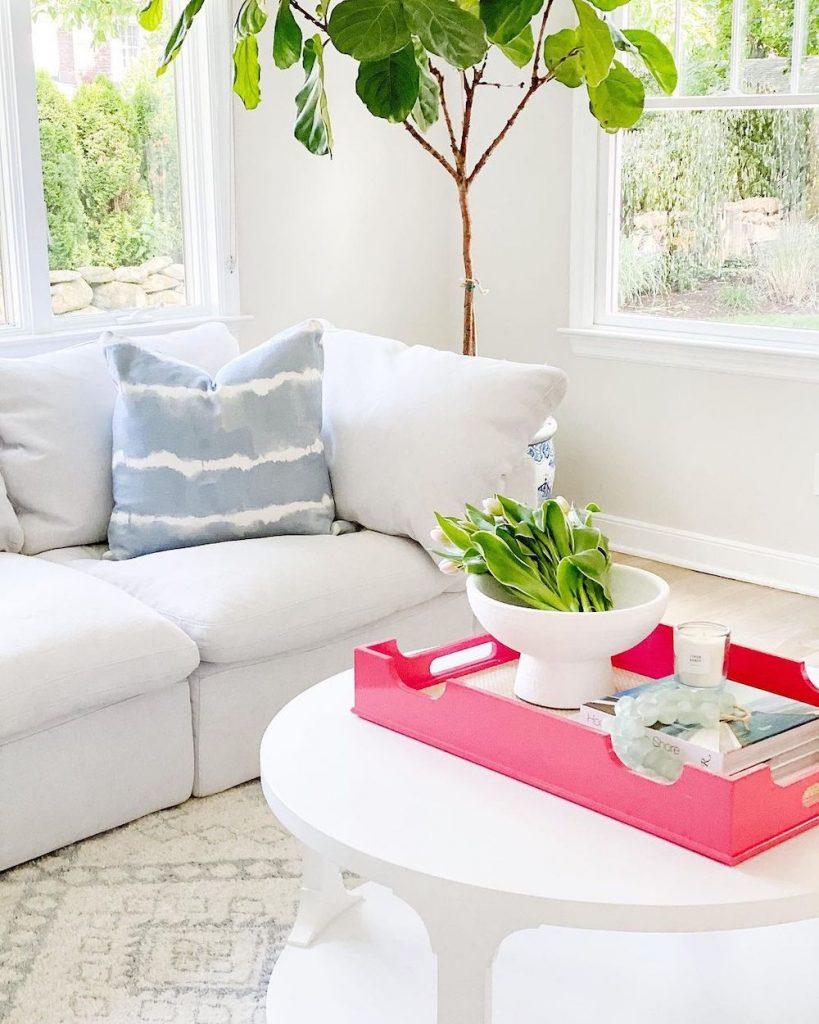 Coastal Pink Styling Ideas Inspo 6 #Pink #PinkAccessories #Coastal #CoastalPinkDecor #BohoCoastal #CoastalDecor #HomeDecor