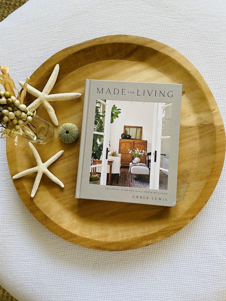 Coastal Home Decor Books Made for Living_1558 #HomeDecorBooks #CoffeeTableBooks #Coastal #CoastalDecor #CoffeeTableStyling #HomeDecor