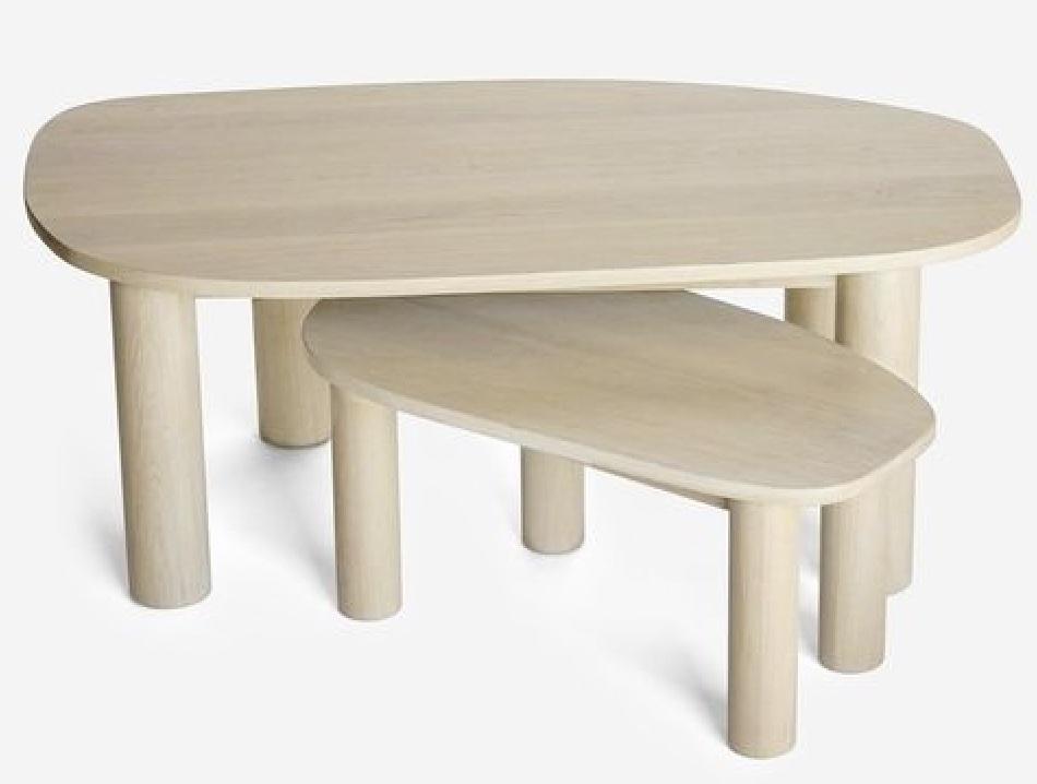 Bunching Coffee Table Styling Ideas Ohm Coffee Table #CoffeeTables #CoastalCoffeeTables #BohoCoastal #CoastalDecor #HomeDecor