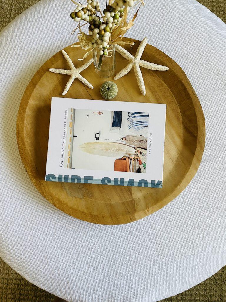 Coastal Home Decor Books Surf Shack_1556 #HomeDecorBooks #CoffeeTableBooks #Coastal #CoastalDecor #CoffeeTableStyling #HomeDecor