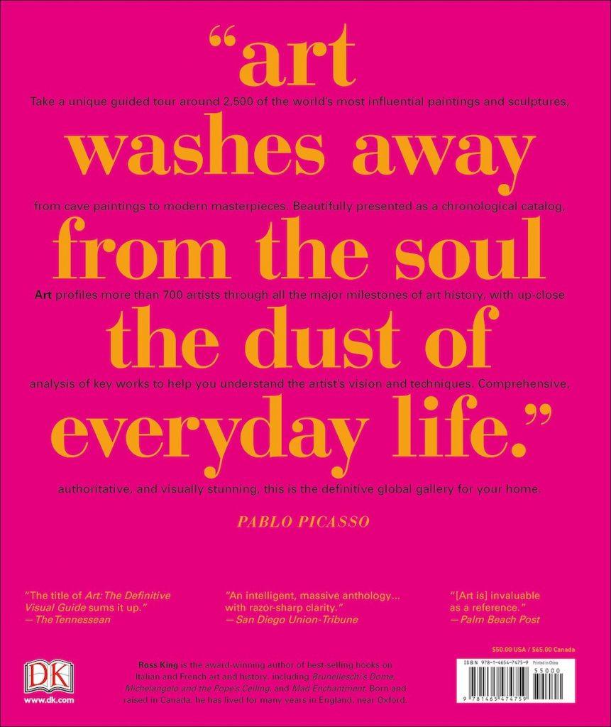Art- The Definitive Visual Guide 2 #Pink #PinkBooks #Coastal #CoastalPinkDecor #CoastalDecor #HomeDecor #LivingRoomDecor