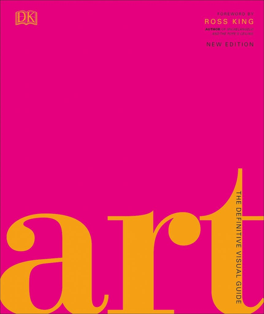 Pink Books Art- The Definitive Visual Guide by Andrew Graham Dixon #Pink #PinkBooks #Coastal #CoastalPinkDecor #CoastalDecor #HomeDecor #LivingRoomDecor