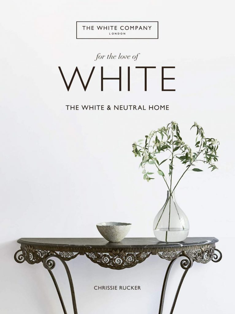 For the Love of White- The White and Neutral Home by Chrissie Rucker #DecorBooks #CoffeeTableBooks #Coastal #CoastalDecor #CoastalTableStyling #HomeDecor