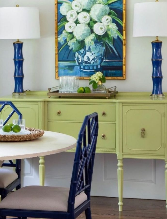 17 Best Green Decorative Accents for Coastal Blue and Green Interiors