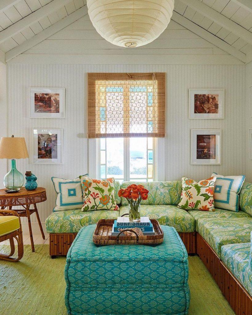 Coastal Blue and Green Interiors Inspo 7 #BlueGreenRooms #BlueGreenInteriors #Coastal #CoastalHomeDecor #HomeDecor #LivingRoomDecor